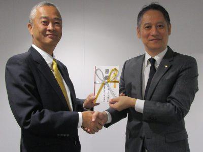 20191106長崎空港ビル寄贈式